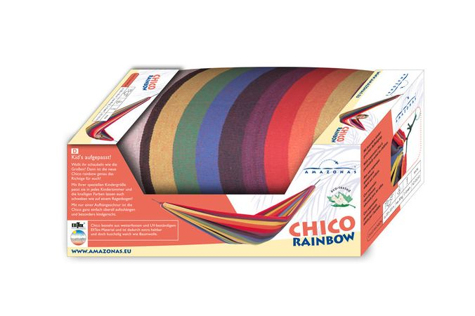 Kinderhängematte 'Chico' Rainbow