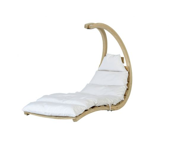 Hängesessel Single 'Swing Lounger' Creme